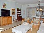 Beach Manor 1005 Living Room