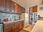 Whip up a delicious home-cooked meal in the fully equipped kitchen.