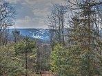 Enjoy the views of Blue Mountain Ski Resort from the balcony.