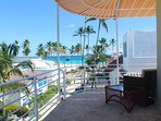 Luxury PentHouse, 2floors, ocean view, 3bedrooms, 3full bathrooms, 6people. Cable TV, Wi-Fi,A/C