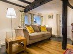 Cosy Tudor lounge