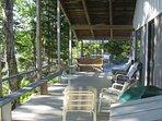 Decks overlooking the water