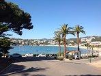 S´Agaró vista de la playa de Sant Pol
