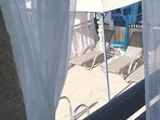 Veranda and patio!