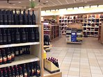 LCBO at 675 Wilson Ave, wide variety, in 25 mins walk or 3 mins by bus