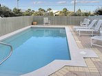Amenities include beautiful private pool