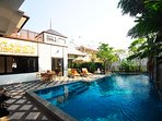 POOL VILLA IN THE HEART OF CHAWENG WITH FITNESS ROOM AND BILLIARD TABLE