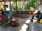 HiddenSide garden view point for guests  use for sitting,relaxing, jungle view and for  WiFi use