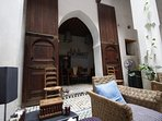 Great doors and arches feature all over the property