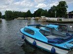 Wroxham Broad - So called 'Capital of the Broads' boasts shops. Restaurants. Pubs. Day boat Hire.