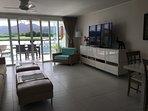Living Room - 60' TV