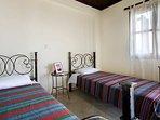 Bedroom - 2 single beds