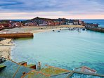 Visit nearby St Ives