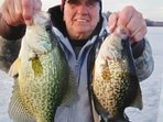 Large Dixon Lake crappies.