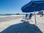 Complimentary Umbrella/Chair Rental (SUMMER SEASON)