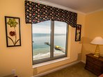 Master Bedroom w/view of Apache Pier