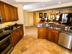 Kitchen w/Granite Counters & Stainless Appliances