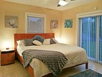 Watch the sunsets from your master bedroom! Superb pillow top memory foam bed.