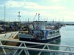 Foot passenger ferries operate between Torquay, Dartmouth and Brixham