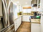 Gourmet Custom Kitchen Casa 225 Casa de Balboa Vacation Rentals Newport Beach