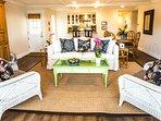 Great Room Casa de Balboa 225 Newport Beach Vacation Rentals