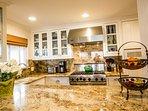 Gourmet Kitchen with Views of the Bay and Beach. Casa 225 Casa de Balboa Vacation Rentals