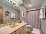 You'll love the privacy of having 2 separate bathrooms.