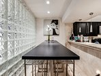 6. Entertaining Dining Room with long table for larger dinner parties
