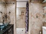 Modern Bathroom 1st floor with dual 2 showers