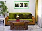 56 Homestay4u Subang Jaya (green house) - cozy additional Living area (ground floor), aircond