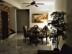 56 Homestay4u Subang Jaya (green house)- Dining table and chairs for 6 pax  (ground floor)