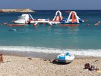 Inflatable fun to be found 8 mins drive away at the port area of Javea (100+ restaurants / bars)