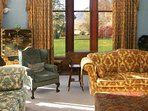 Relax in style in this drawing room