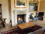 For colder months enjoy the warmth of the open fire in the sitting room.