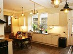 With dining space for 24 people the kitchen needs to be mighty, and it is with plenty of room for 'chopping and...