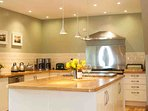 Cooking for a large group can be challenging, but this kitchen should make it easy