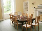 Elegant and traditional dining room