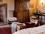 The Stewart Suite can be a super king or twin room
