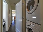 Stay clean with in-unit laundry machines!