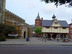 Market Harborough Historic centre.