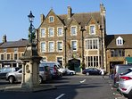 Uppingham town centre.