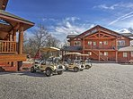 Golf carts are available to rent for an additional nightly fee!