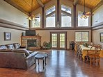 This spacious home boasts 5,000 square feet of comfortable living space.