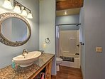 8 bathrooms are provided for your convenience.