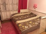 bedroom with double bed for 2 people ( room have 13m2)