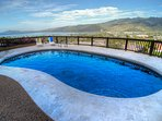 Private Pool with views of Diamond Head
