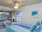 Ocean View Queen bedroom w/lanai