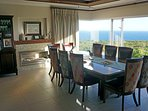 Sunny dining room - table seats 10