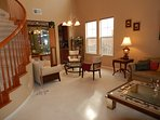 Well-lit spacious Living Room