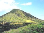 Koko Head to right of house view